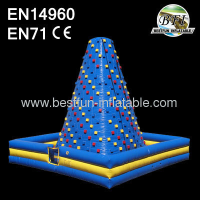 Inflatable Rocky Mountain Climbing Wall