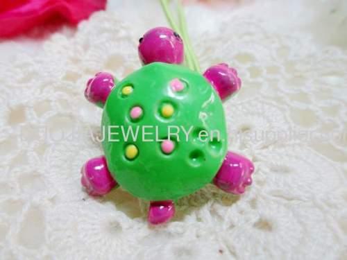 Children Hair accessories, Children Hair ornament Fancy DBFS1106 Tortoise Shape Hair Rubber Band /Hair Elastic Band