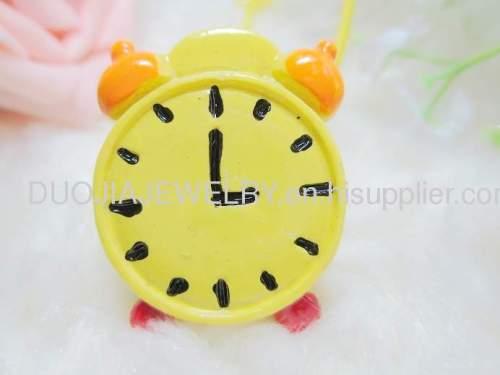 Children Hair accessories, Children Hair ornament 2012 New DBFS1111 Alarm Clock Hair Rubber Band /Hair Elastic Band