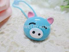DBFS1112 lovely Pig Shape Hair Rubber Band