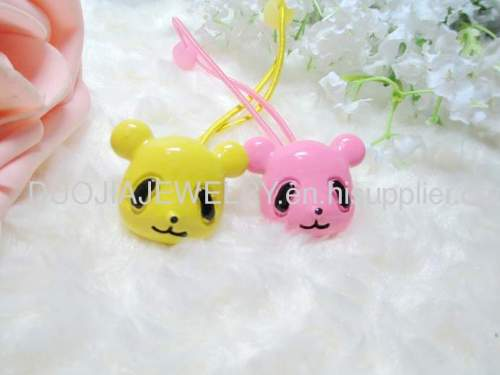 DBFS1113 lovely Small Bear Shape Hair Rubber Band
