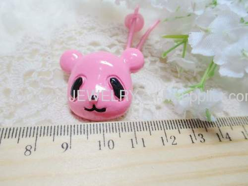 Children Hair accessories, Children Hair ornament Fancy DBFS1113 Small Bear Shape Hair Rubber Band /Hair Elastic Band