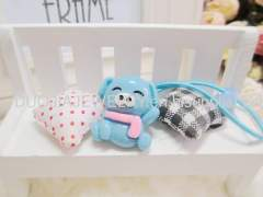 DBFS1117 Lovely Bear shape Rubber Bands hair accessories