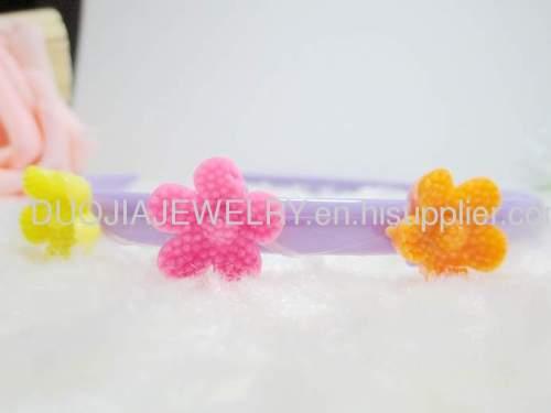 Children Hair accessories, Children Hair ornament Fancy Handmade FG1101 beautiful Flower Shape Hair Band /Hair Band