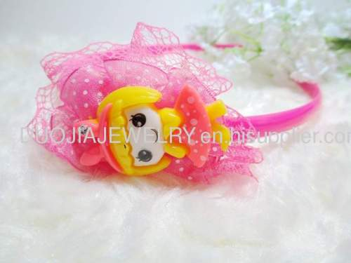 Children Hair accessories, Children Hair ornament 2012 Fancy FG1103 beautiful Girl Shape Hair Band esign /Hair Band