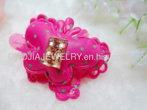 Children Hair accessories, Children Hair ornament Fancy Handmade YZJ1105 Butterfly Shape Hair Clip, Hairpin, Hair Grip