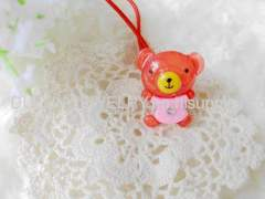 Cute Hair Rubber Bands with Resin Design/Hair Elastic Bands