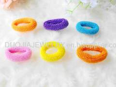 XFSCX002 Bands with Resin Design/Hair Elastic Bands