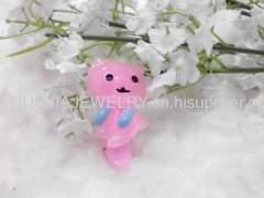 Cute Bear Shape Resin Duck Mouth Hairpin/Hair Clip/Hair Grip