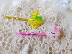 Fancy YZJ003 Iron and Resin Hair Clip/ Hair Grip/ Hairpin