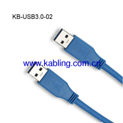 USB Cable 3.0 A Male TO A Male