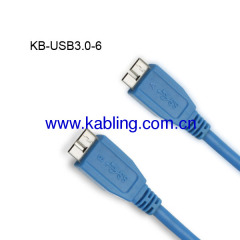 USB Cable 3.0 Micro A Male to Micro B Male
