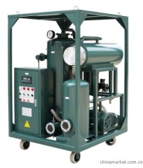 Vacuum Lubricating Oil Filtering System Oil Restituting Oil Recovering Equipment