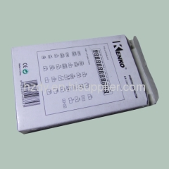 Grey board paper packaging box for calculator