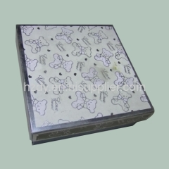 White card paper box for gifts or for accessories