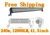 Free shipping 240w LED light bar for Off road,side by side ,4*4,ATV,UTV,Buck