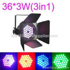 multi color led par light light barn doors barn door lights
