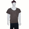 casual short sleeve cotton round neck mens t shirts