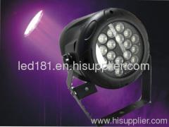 Chauvet LED light par 64 led 3w par 64