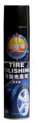 Tire Polishing Agent/Car Tire Foam Polish Cleaner 650ml
