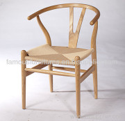 wishbone chair - wood