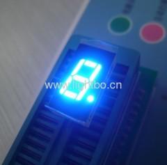 Ultra heldere blauwe gemeenschappelijke anode enkel cijfer 0,4