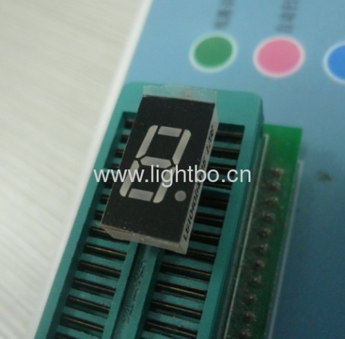 Ultra bright blue common anode single digit 0.47 segment led display