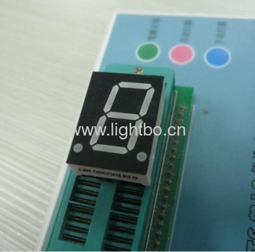 общий катод 0.8inch супер красный 7 сегмент светодиодный дисплей одну цифру для панели приборов