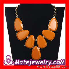 2013 Resin Stone Necklace