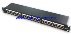 Fully Shielded Cat 6 FTP Patch Panel