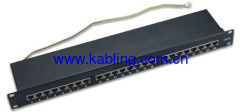 Cat5e FTP Patch Panel 24ports