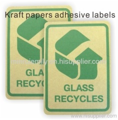 recycle adhesive labels