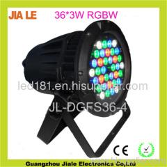 led par rgbw rgbw led par waterproof light