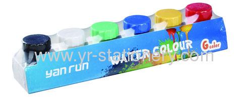 Water color paints set for kids DIY