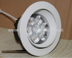 New mould 7x1W Led Ceiling Light 630Lumen