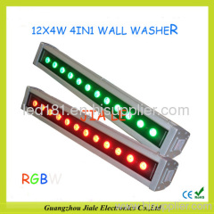 High-power led wall washer 48w rgbw outdoor light