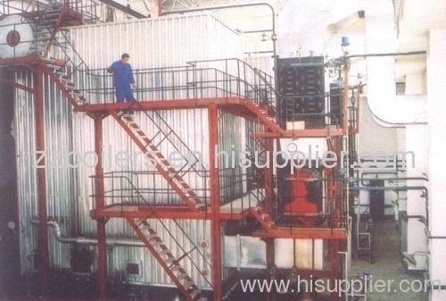 The cormer tube biomass boiler