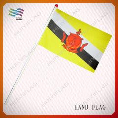 polyester hand flag