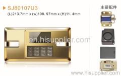 Touch panel safe locks
