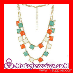 Kate Spade Square Beaded Necklaces