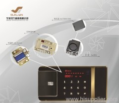 Safe locks with LED display