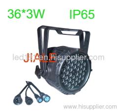 waterproof rgb par light outdoor led 3in1 par
