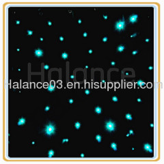 Optic Fiber Lighting Star Cloth