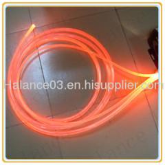 Solid side glow Optic Fiber Light