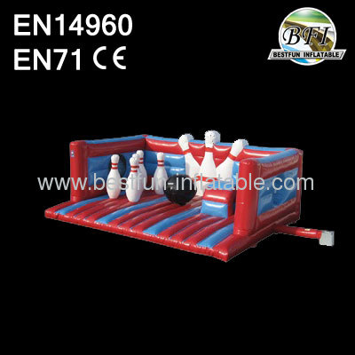 2014 Exciting Inflatable Bowling Bouncer Castle