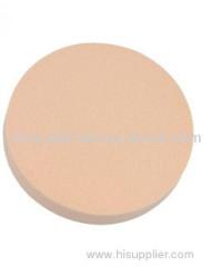 Round cosmetic sponge