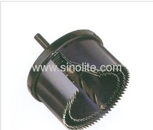 Exchangable hole saw set 3pcs