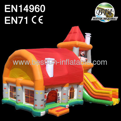 Inflatable Pirate Jumping Bounce House