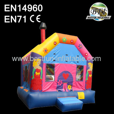 Beautiful Color Little Princess Jumping House