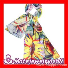 Designer European Silk Scarf